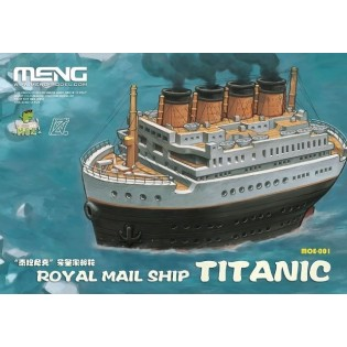 RMS Titanic Cartoon Ship