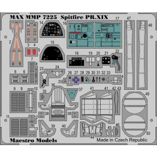 S31 Spitfire PR Mk.XIX detail set colour