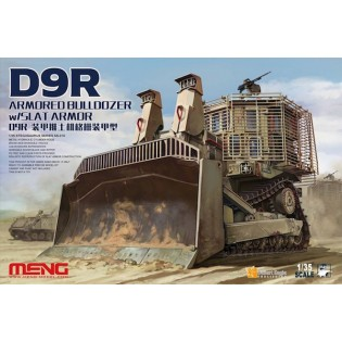 D9R Armored Bulldozer with Slat Armor