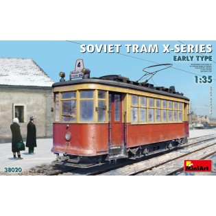 Soviet Tram X-Series Early Type