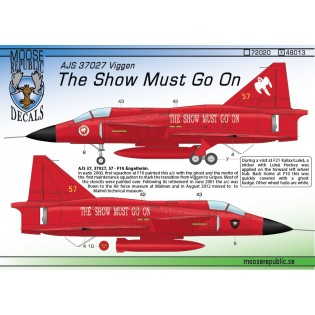 SAAB AJS37 Viggen The Show Must Go On