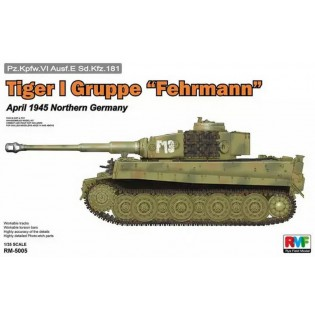 Tiger I Gruppe Fehrmann April 1945
