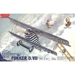 Fokker D.VII (OAW), Mid.