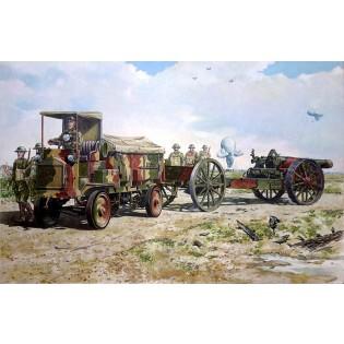 FWD Model B 3 Ton US Army Ammunition Truck & BL 8-inch howitzer Mk.VI