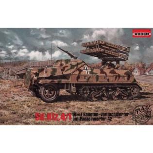 SdKfz 4/1 (8cm) Raketen-Vielfachwerfer auf Panzerwerfer 42