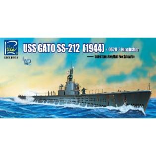 USS Gato SS-212 Fleet Submarine 1942