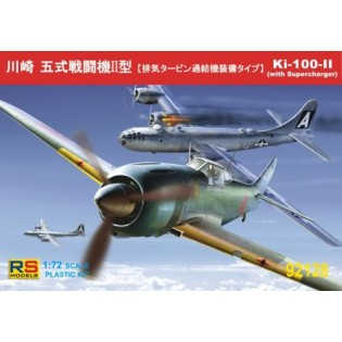 Re-released! Kawasaki Ki-100 II with Turbocharger 3 Decal variants for Japan and Great Britain
