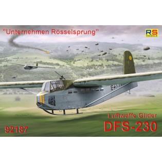 DFS 230 Unternehemen Rosselsprung, decals for 3 a/c