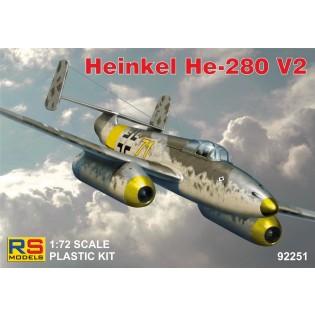 Heinkel He280 Jumo 004, 4 decals for Luftwaffe