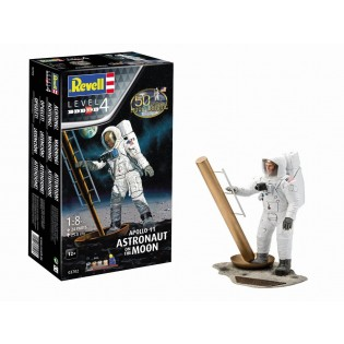 Apollo 11 Astronaut on the Moon 1/8 scale (50th Anniversary of the Moon Landing)
