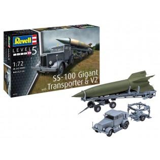 SS-100 Gigant + Transporter + V-2 (ex Special Armour)
