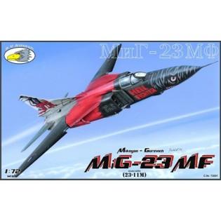 MiG-23 MF incl. p/e
