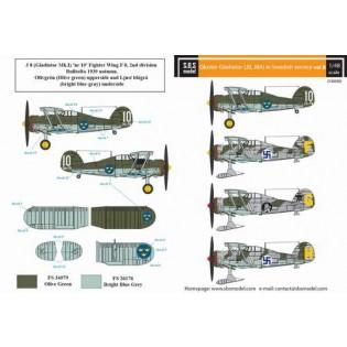 Gloster Gladiator in Swedish service VOL.2