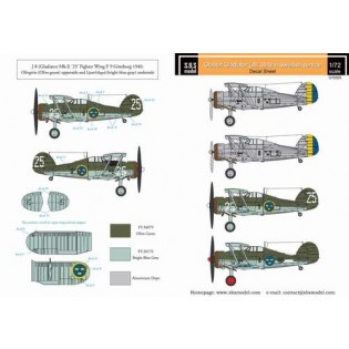 Gloster Gladiator in Swedish service VOL.1