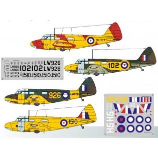 Airspeed Oxford Mk.I/II Commonwealth Service