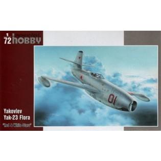 Yak-23 Flora,Red & White Stars