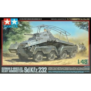 SdKfz 232 8-Wheeled Heavy Armored Car
