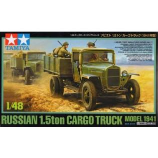 Russian 1.5ton Cargo Truck Model 1941