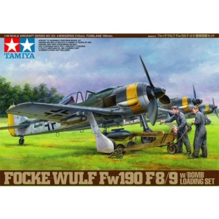 Fw190F-8/9 with bomb loading set