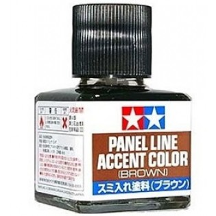 Panel Line Accent Color, Brown 40ml