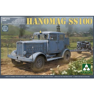 Hanomag SS100 WWII German Tractor