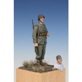 Svensk infanterisoldat WWII