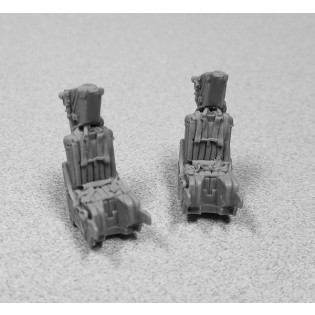 MB GRU-7A resin ejection seats for Tamiya