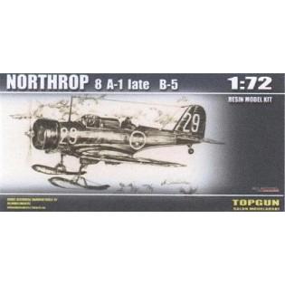 Northrop 8A-1 late SwAF B5 on skis