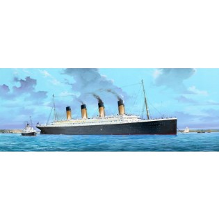 RMS Titanic, 135 cm. incl. LED lighting set  5 feb 2020