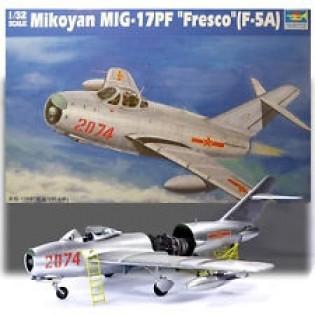 MiG-17PF Fresco / Shenyang F-5A (kinesiska dekaler)