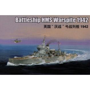 HMS Warspite. Queen Elizabeth class Battleship