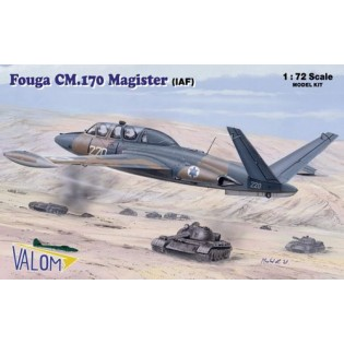 Fouga Magister CM.170. Decals Israel