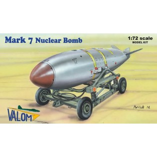 U.S. Mark 7 Nuclear Bomb, including cart