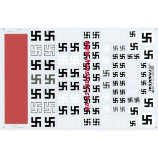 German swastikas incl.grey