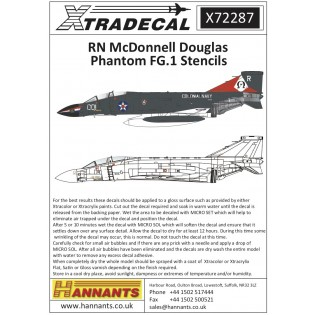 Royal Navy FG.1 Phantom stencil data Part 1