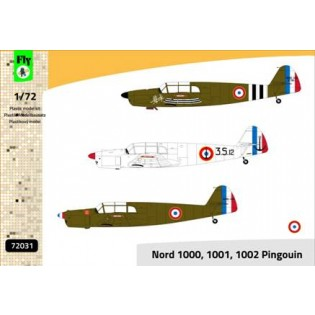 Nord 1000/1001/1002 Pinouin (3 x French Air Force)