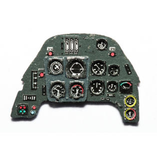 Bf109G-6 instrument panel (for Eduard)
