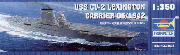 US CV-2 Lexington aircraft carrier