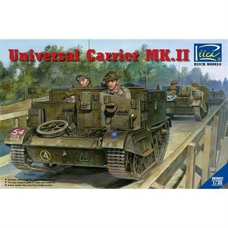 Universal Carrier Mk.II (full interior) - including PE parts and Figures
