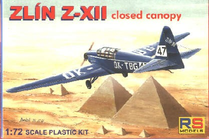 Zlin Z-XII closed canopy SE AGS