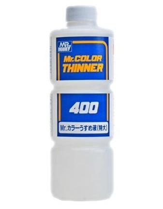 Mr. Color, 400 ml thinner (lack & acryl)