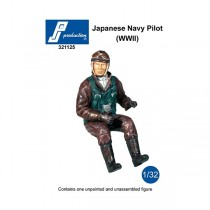 IJN pilot seated in a/c (WWII)