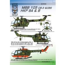 Hkp9A & Hkp9B, MBB Bo105