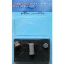 J35 Draken exhaust nozzle (HAS)