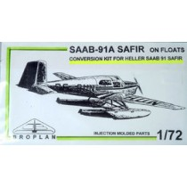 SAAB 91A Safir on floats conversion för Heller Safir.