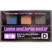 Weathering Master, D set (burnt blue, burnt red, oil stain)