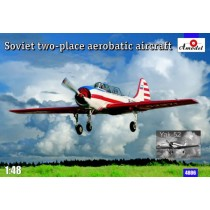 Yak-52 aerobatic display aircraft