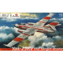 Yak-25RV the target drone - Limited edition