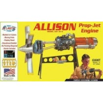 Allison Turbo Prop Engine 1/10