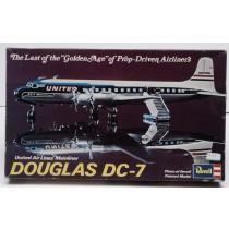 Douglas DC-7 United Air Lines 1/124 SE INFO